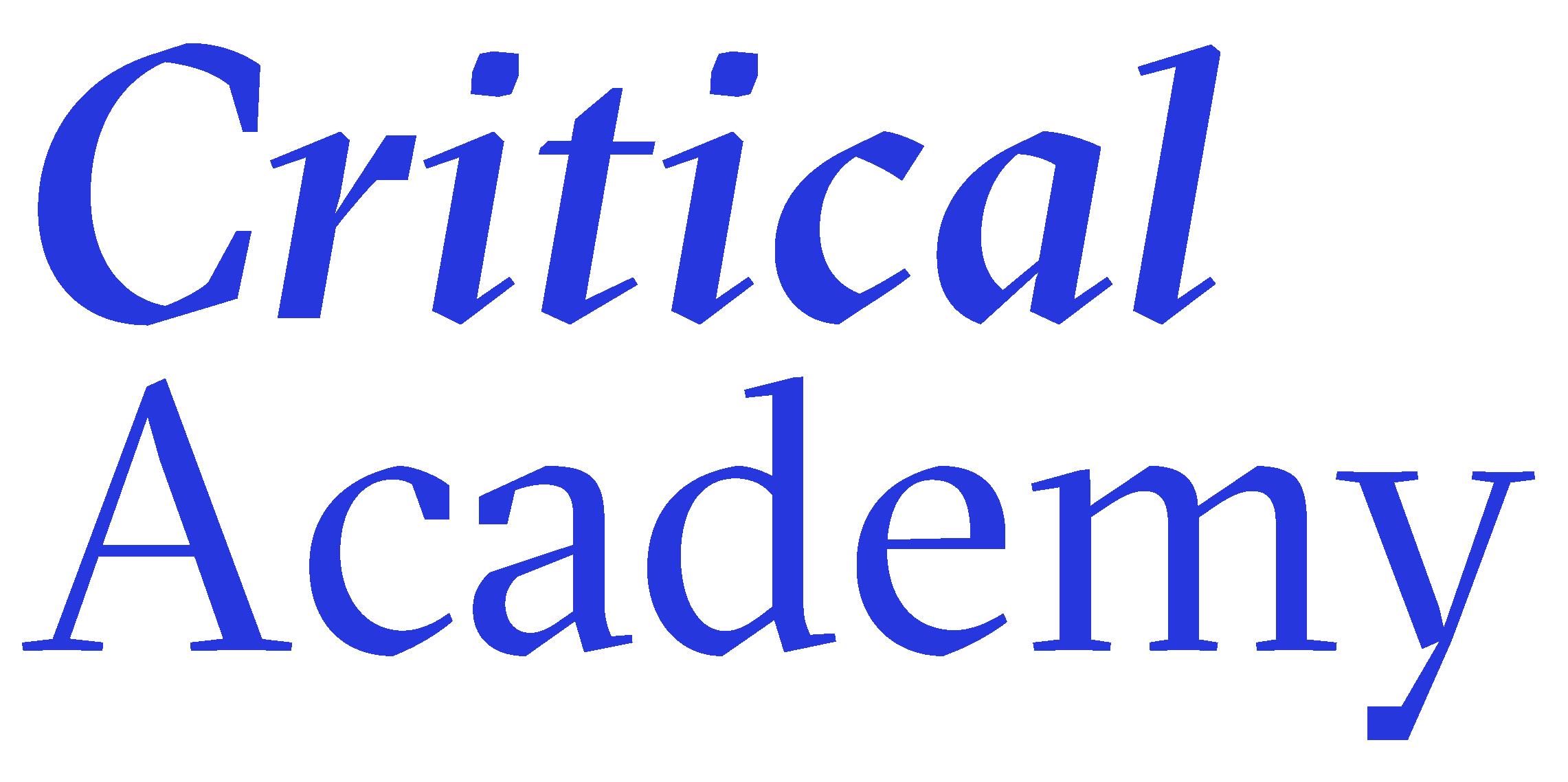 Critical Academy